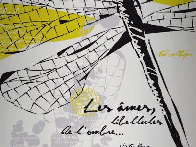 stickers géant XXL labo de tatoo mural Gaïté design mural walldesign labo-gaïté